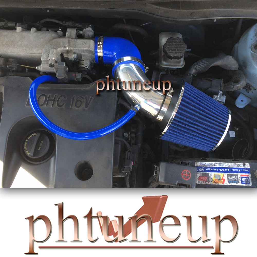 BLUE RED COLD AIR INTAKE KIT SYSTEMS FIT FOR HYUNDAI ACCENT 1.6 1.6L 2011+