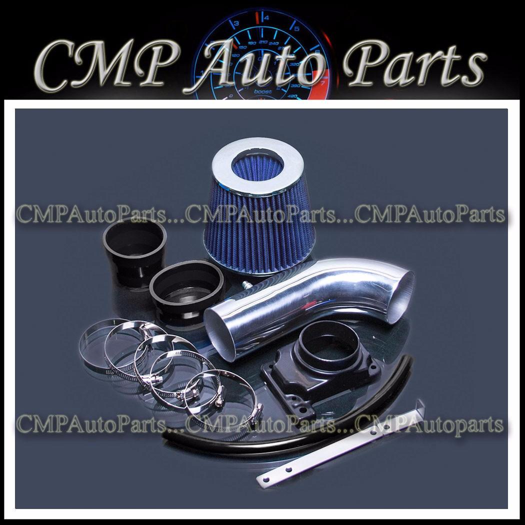 MONTERO SPORT 3.0L V6 AIR INTAKE KIT BLACK BLUE 1992-2003 MITSUBISHI MONTERO