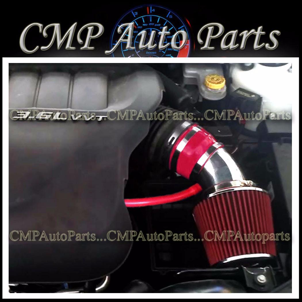 RED AIR INTAKE KIT 2011-2015 DODGE JOURNEY AVENGER Chrysler 200 3.6L V6