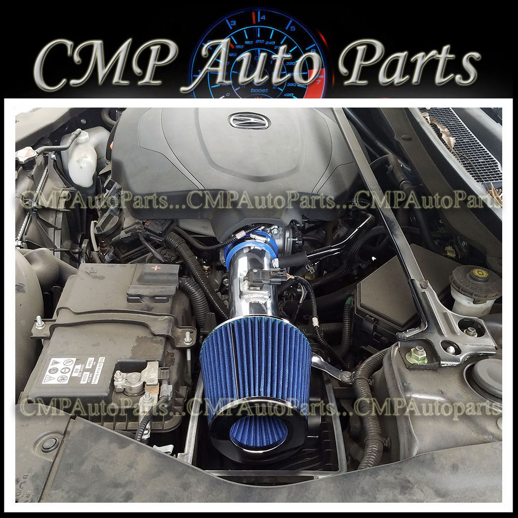 BLUE AIR INTAKE KIT SYSTEM FOR 2015-2018 ACURA TLX 3.5 3