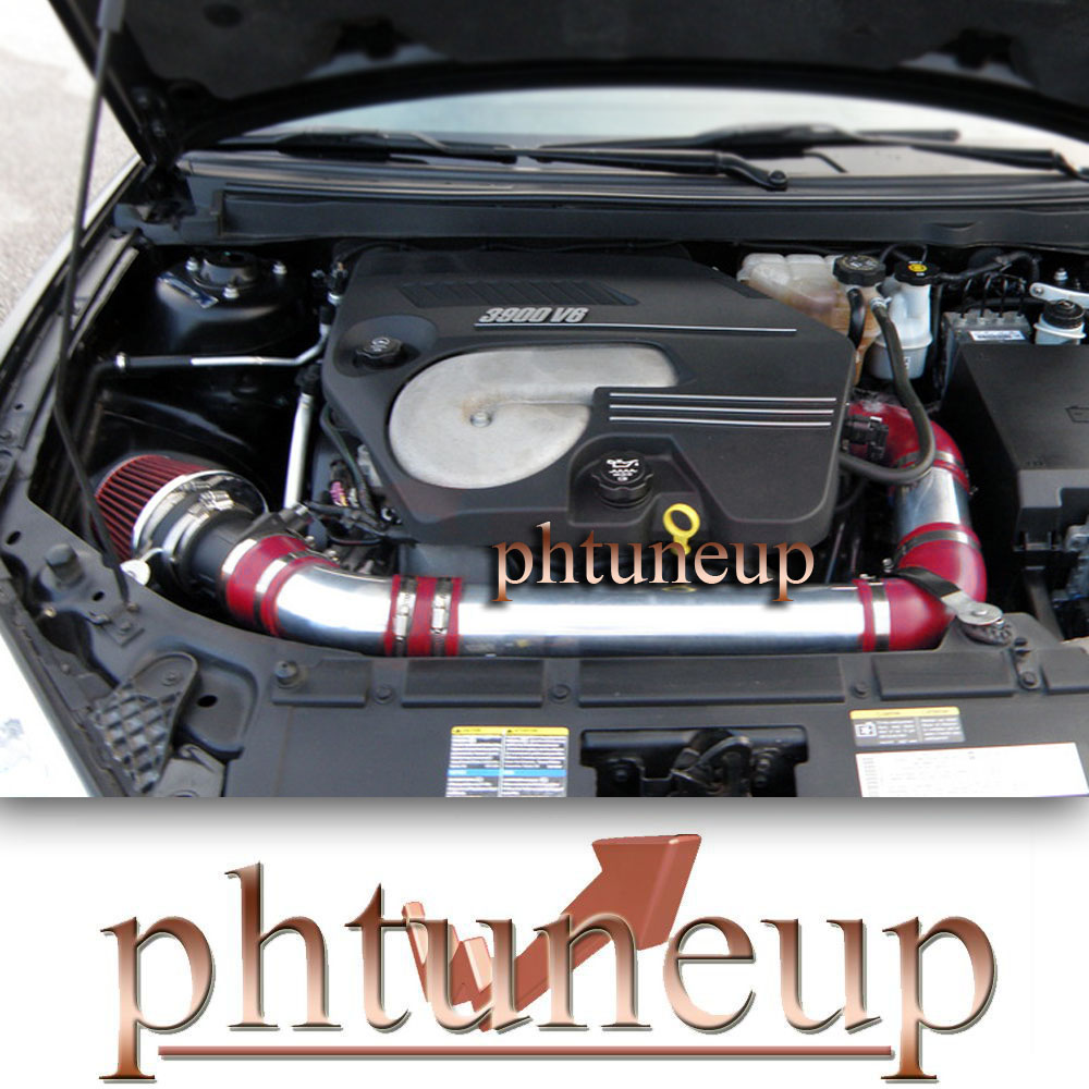 BLUE 2004-2010//04-10 CHEVY MALIBU//PONTIAC G6 3.5 3.5L V6 COLD AIR INTAKE