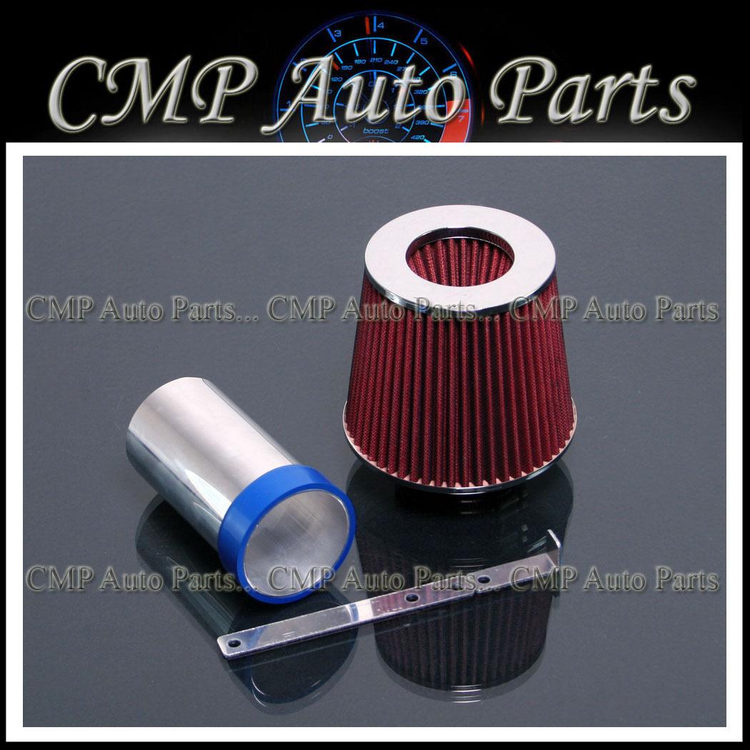 Filter For 98-04 300M BLACK Short Ram Air Intake Kit 94-01 LHS 3.5L V6