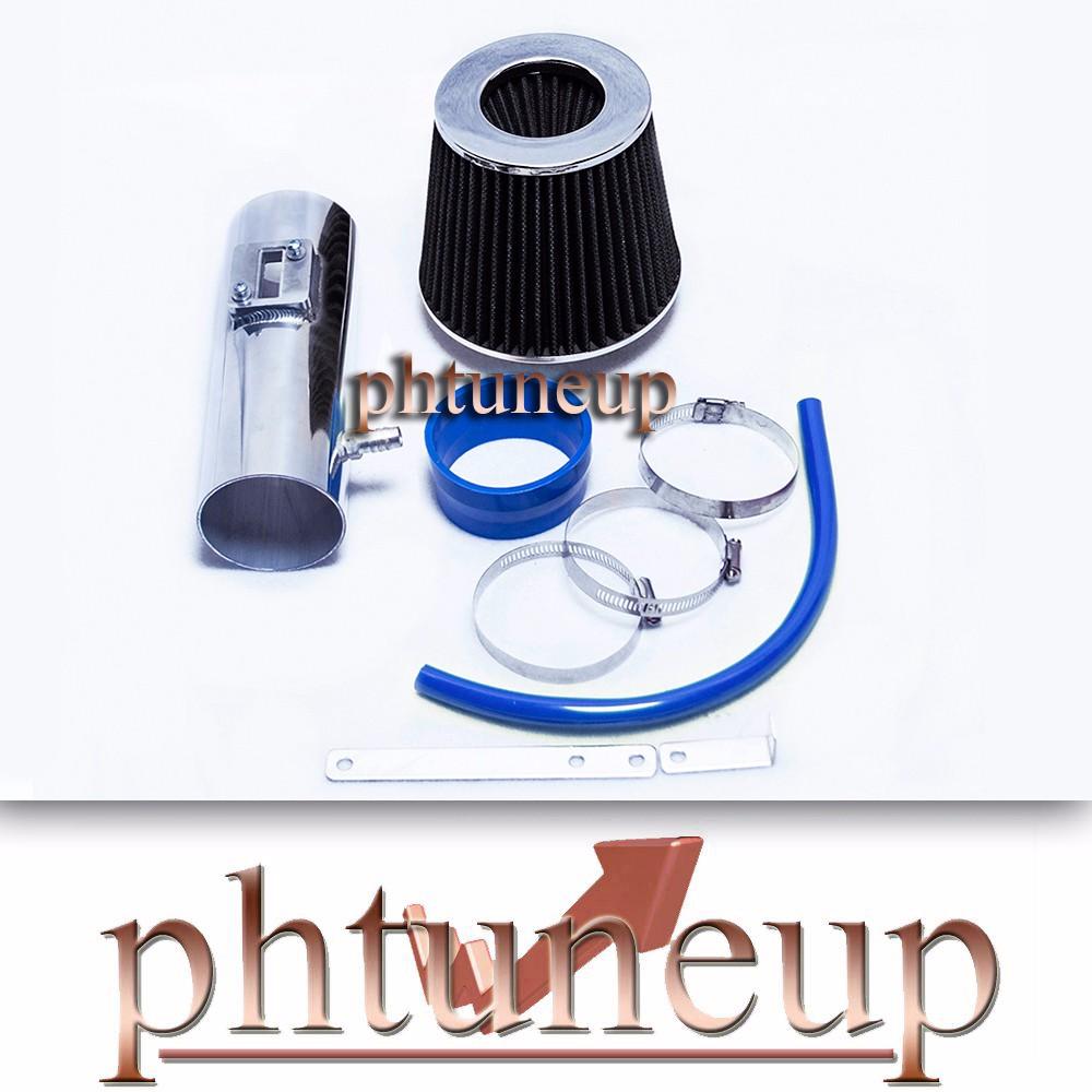 BLUE Filter for 07-11 Enclave Short Ram Air Intake Kit Outlook 3.6L V6 All