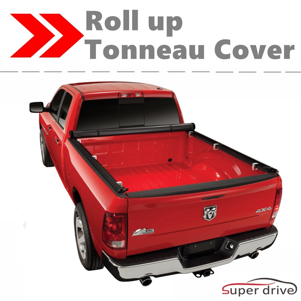 2015-2018 CHEVY COLORADO 6ft bed Vinyl Lock Roll Up Tonneau Cover