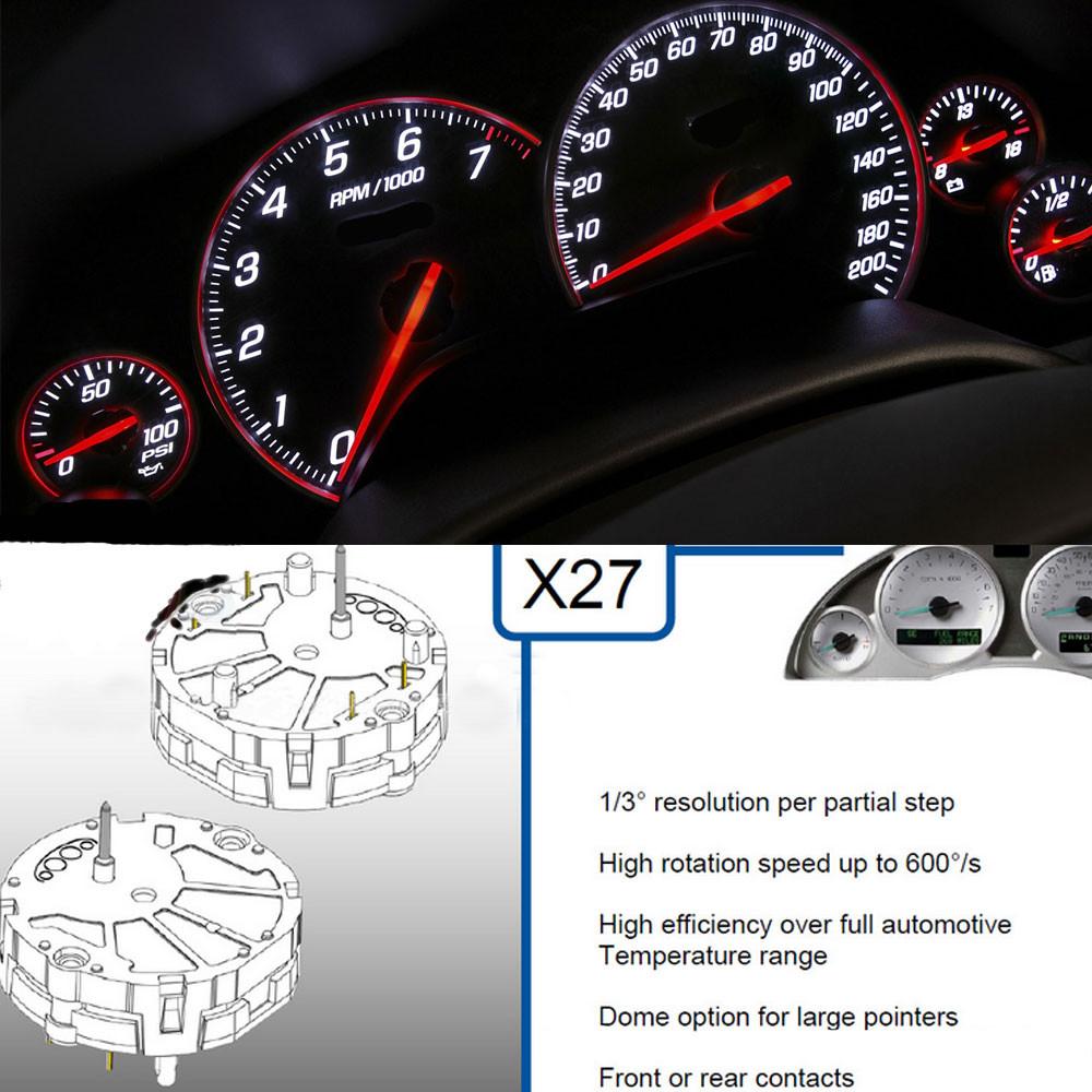 10GM Stepper Motor Speedometer Gauge Repair Kit Instrument Cluster+10 Bulbs