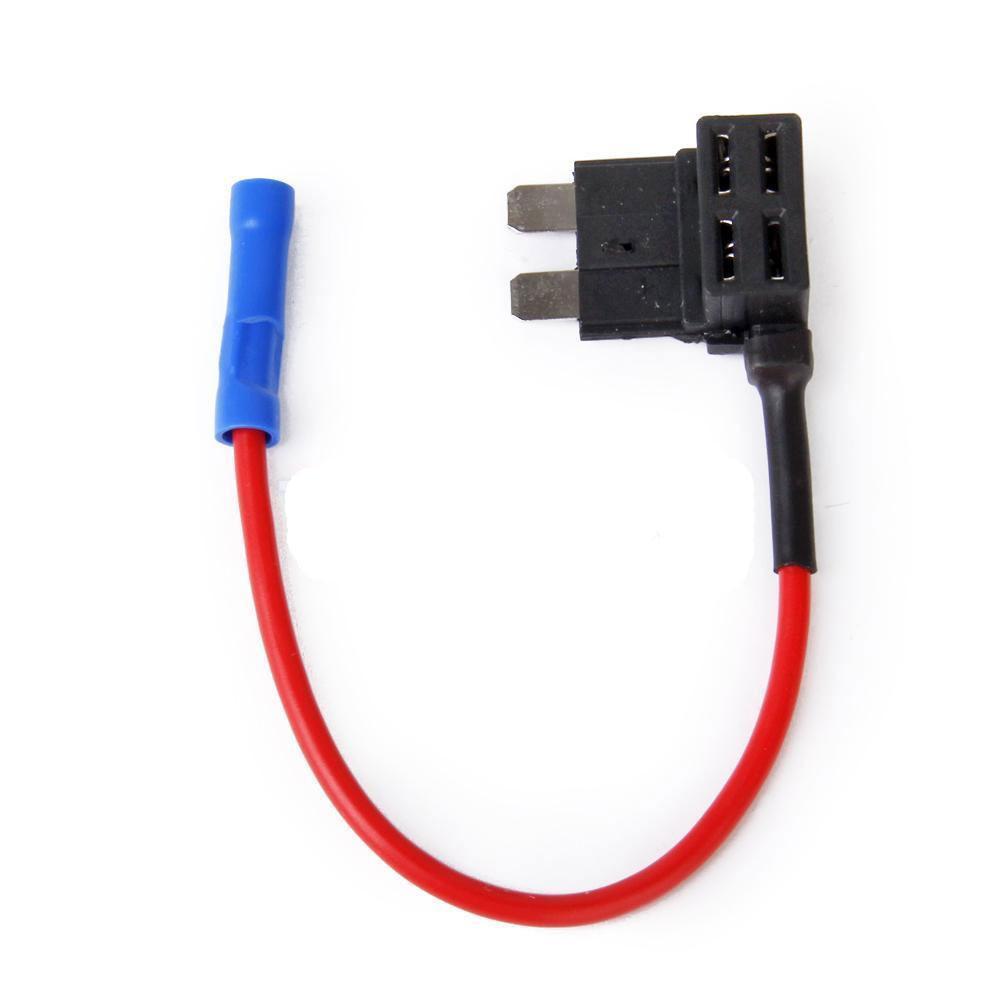 5PCS Car Add Circuit 10A ACU Piggy Back Tap Standard Blade Fuse Box Holder