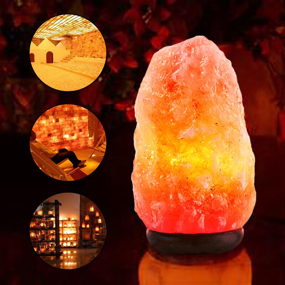 crystal salt glow product authentic unique himalayan lamp