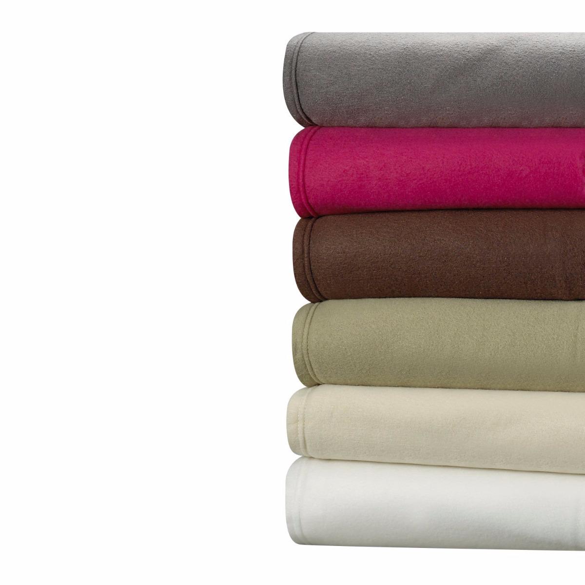 Cozy Fleece 4 Piece Deep Pocket Bed Sheet Set Polar