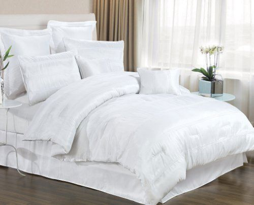 Dress womens clothing: White bed linen sets