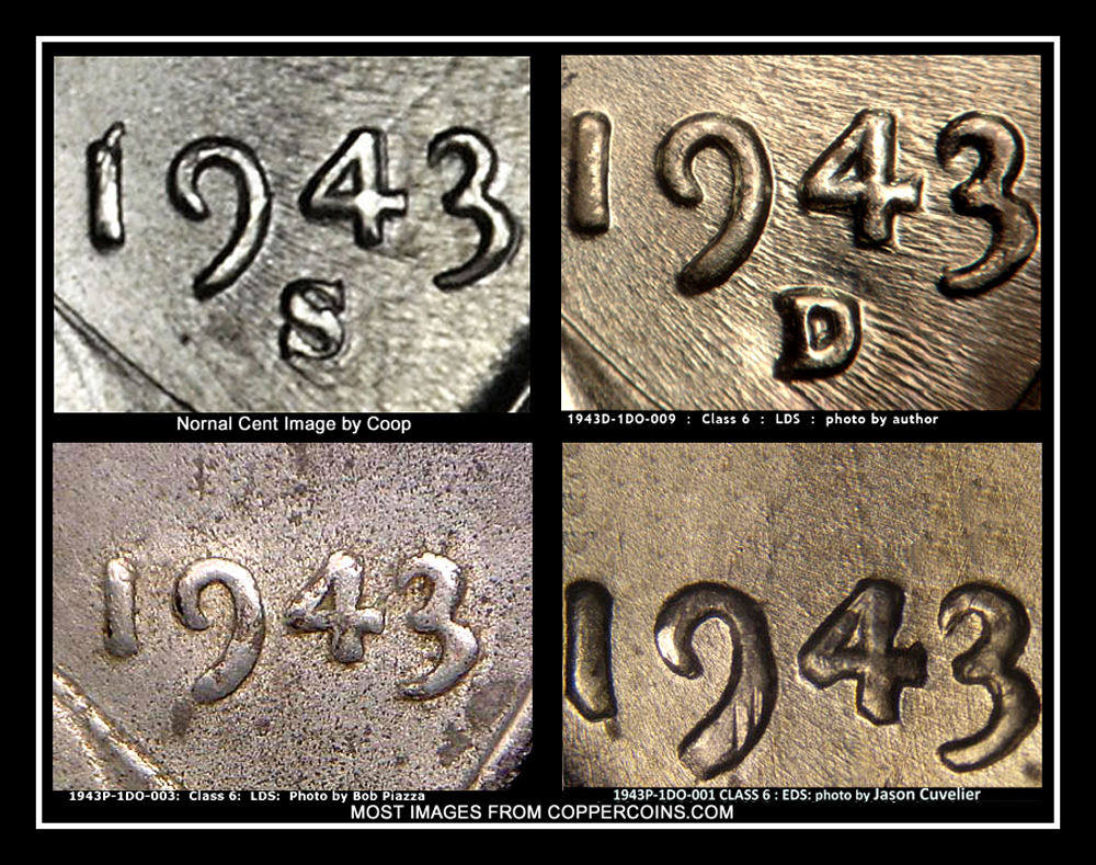 1943 steel wheat penny Doubled Die Obverse / DDO ? - Coin