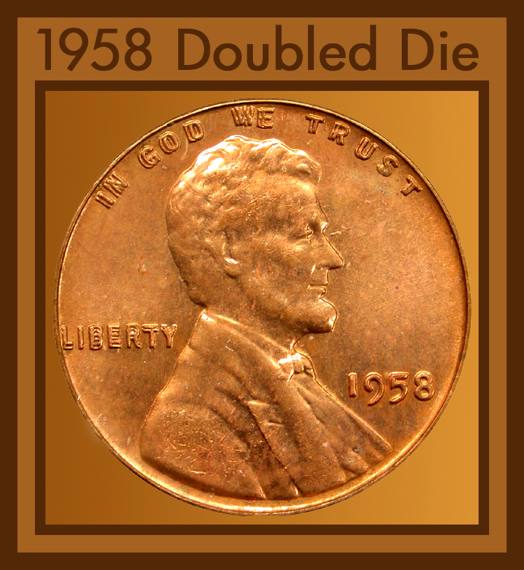 1958 d penny value