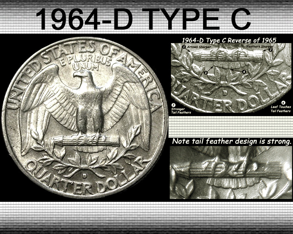 1964 D Quarter Type C Reverse - Coin Community Forum