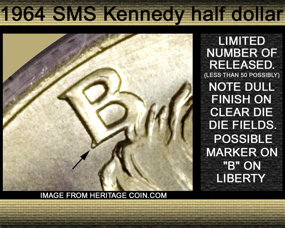 1964 D Kennedy Half Dollar considered an SmS? - Coin