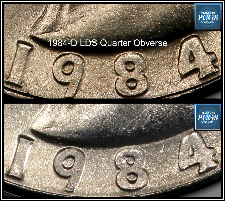 1984 d Washington Quarter  Please let it be Doubled Die