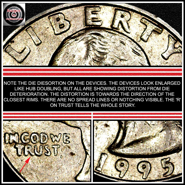 1995-p quarter Doubled Die Obverse / DDO ? - Coin Community