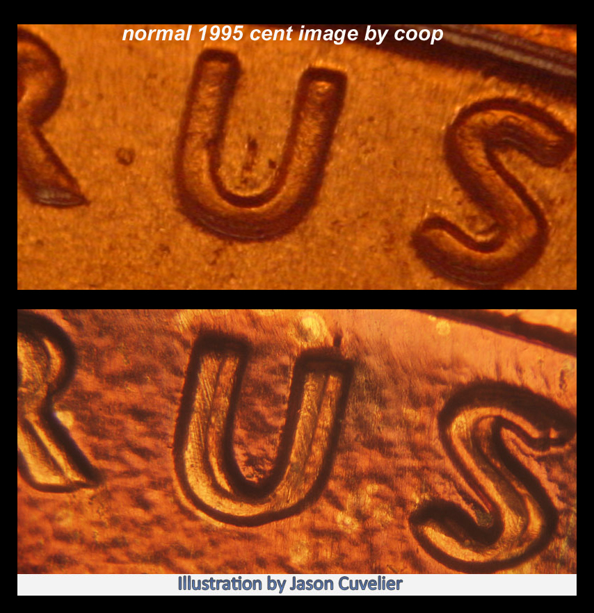 1995 d lincoln penny error on date coin community forum note publicscrutiny Images
