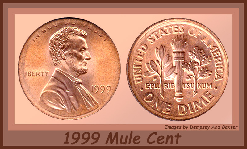 Could this be the 1993 D dime reverse Lincoln cent? - Coin