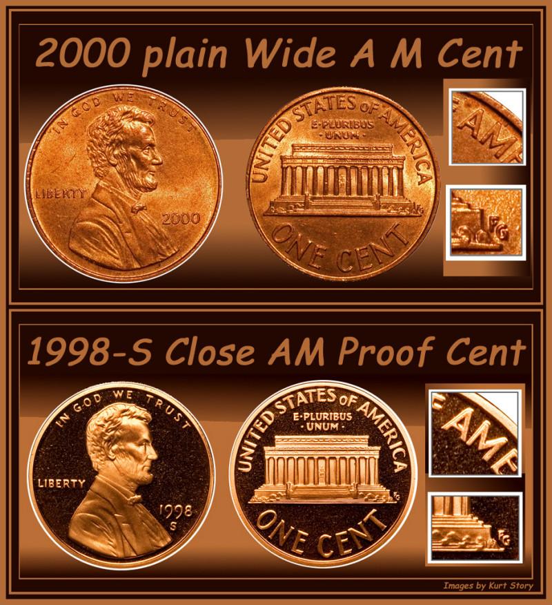 2000 Penny Error Wide Am