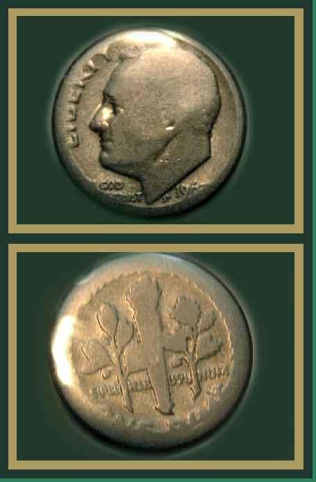 Struck Through Grease both Sides? Die Adjustment Strike? - Coin