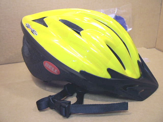 New-Old-Stock Bell Paradox Helmet w//Yellow Shell Size Small ...Second Quality