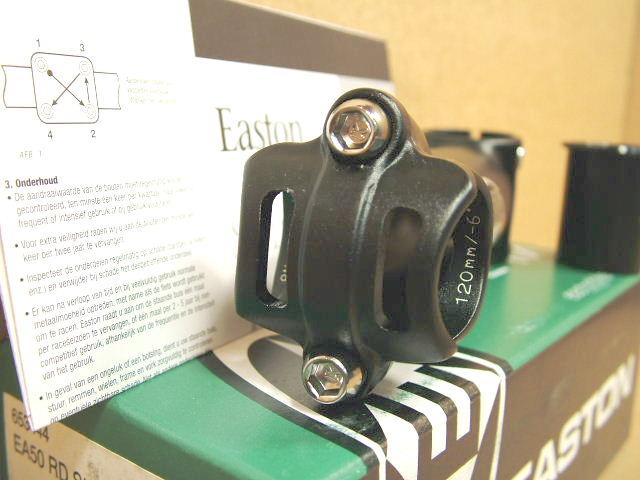 New Reversible Easton EA50 Road Stem 120mm x 26.0mm