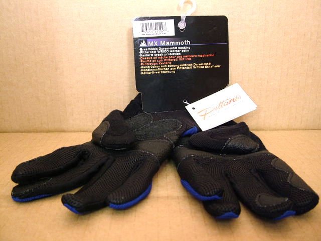 Men/'s Small New Lake MX Mammoth Gloves..Duramesh Back//Leather Palms