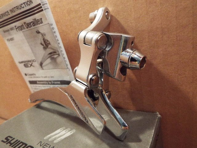 Boxed New-Old-Stock Shimano 600 Front Derailleur...Braze-On Model FD-6207