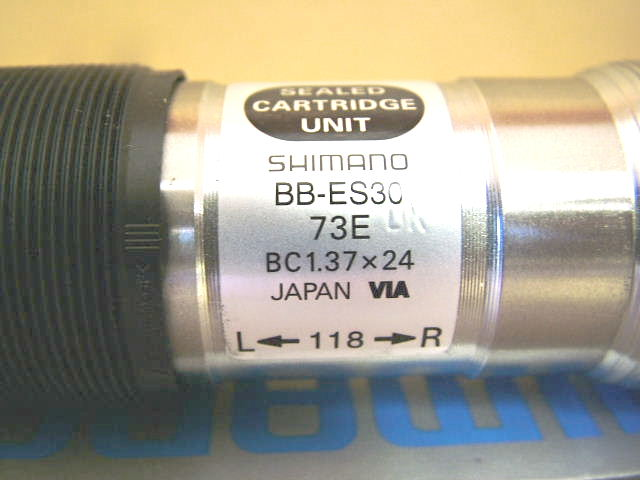 73x118 mm Pédalier NEW-OLD-STOCK Shimano Deore Octalink BB-ES30