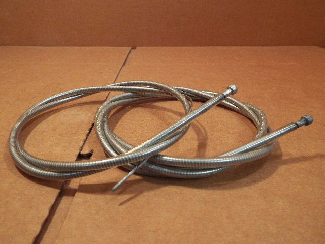 New-Old-Stock Clarks Brake Cable Set w//Blue-Gray Cable Housing