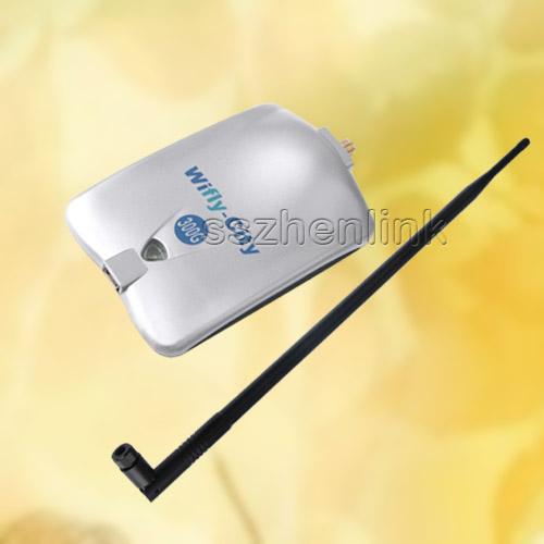 300g High Power Wireless USB WiFi Adapter 10dBi Antenna