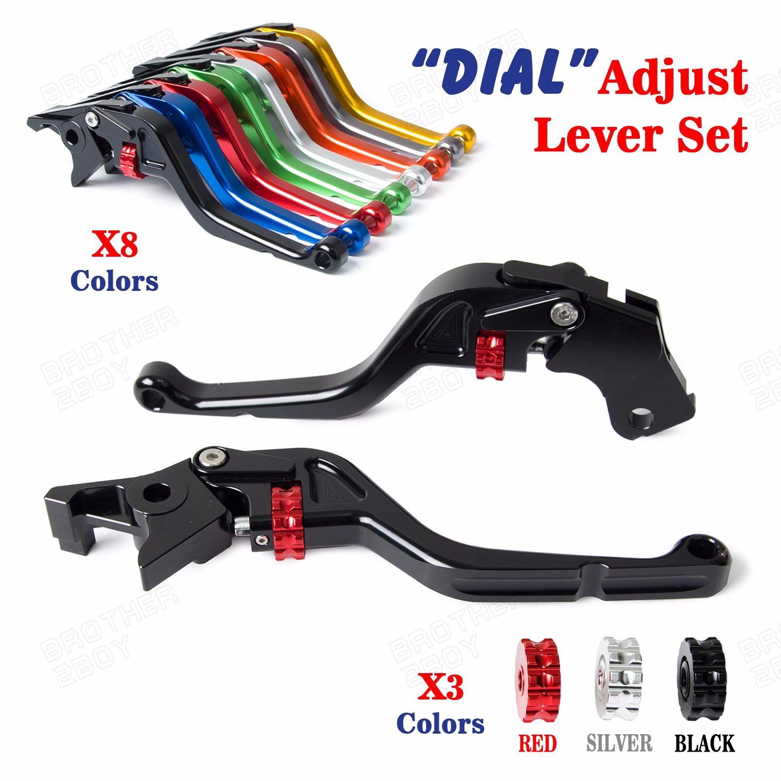 Folding Extendable Adjust Brake Clutch Levers For Aprilia RSV MILLE R 99-03