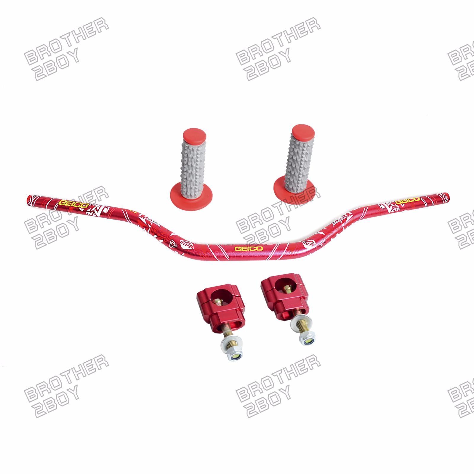 1 8 Handlebar Fat Bar Mount Clamp For Honda Crf250r Crf250x 2005 Wiring Diagram Crf450x Crf450r