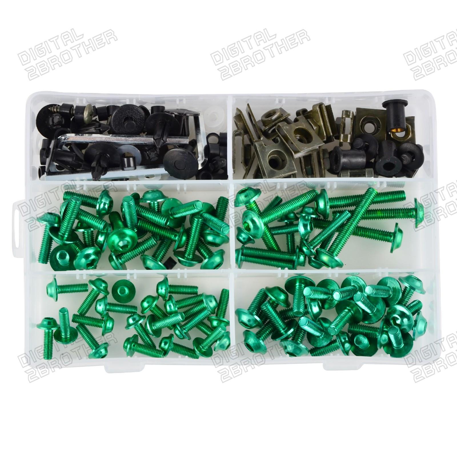 Complete Fairing Bolts Screw Kit For Kawasaki Er 6nz1000z750z750r 6f Wiring Harness 6n Z1000z750z750rzr7szzr600