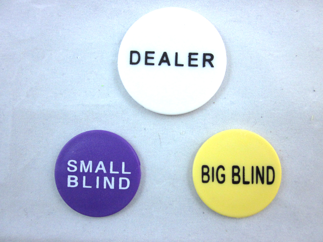 Details About Small Blind Big Blind And Dealer Button Poker Lot Best Price Usa Seller