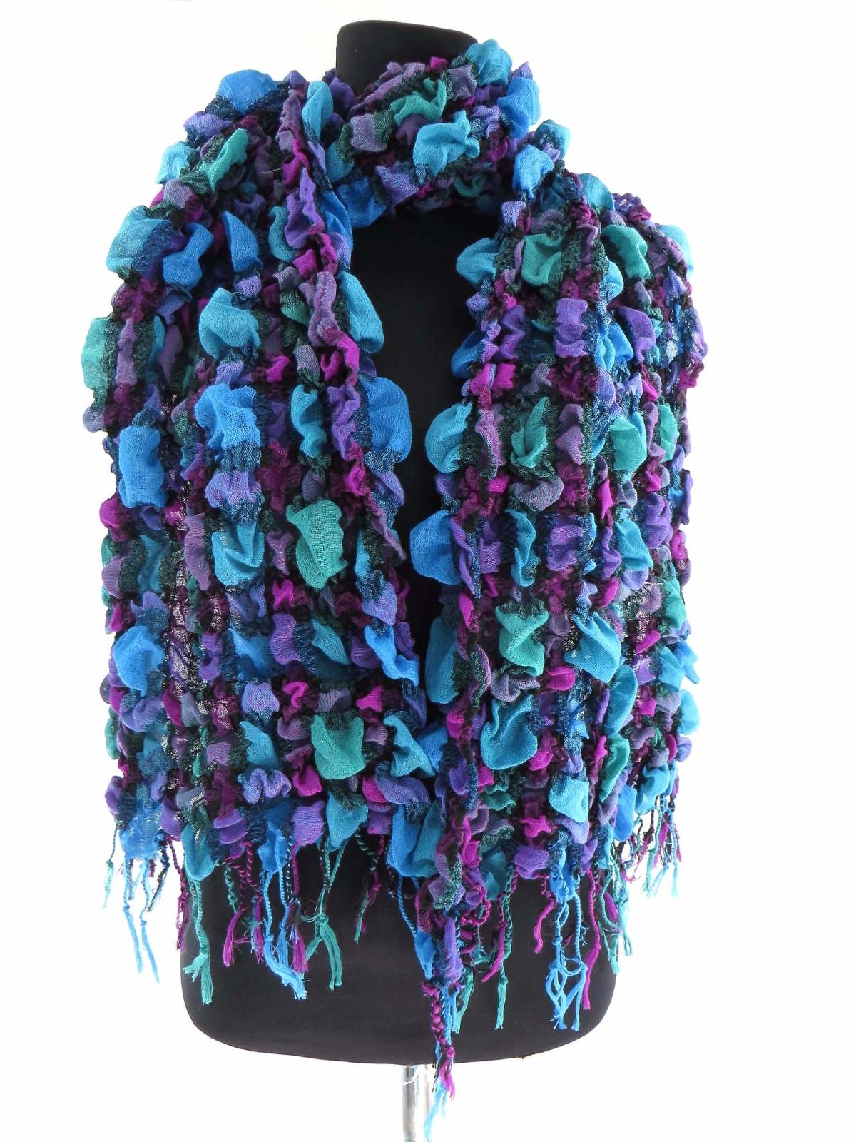 US SELLER-12 pcs bulk lot floral winter Long neckwarmer Scarf wholesale shawls