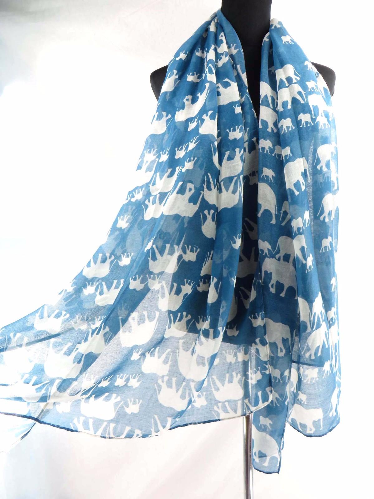 swimwear cover up lucky elephant animal large scarf beach sarong US SELLER
