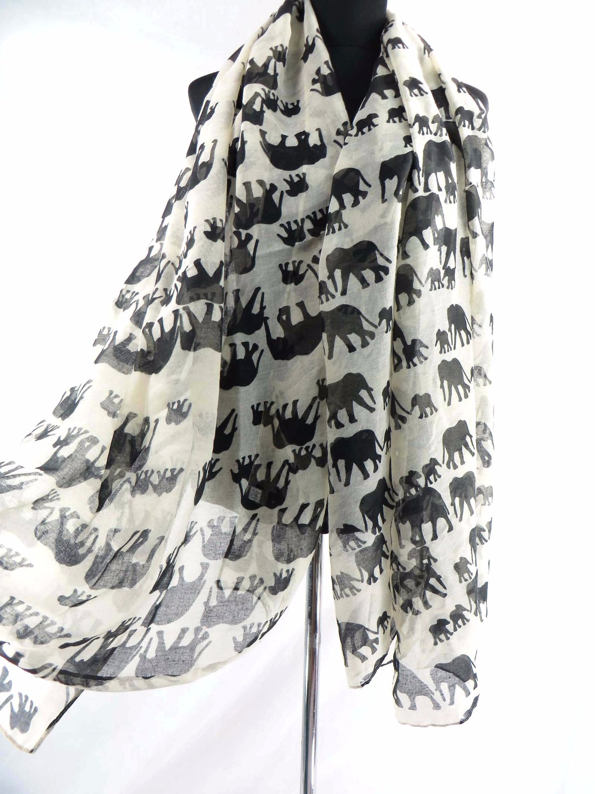 US SELLER-10pcs bathing suit cover up lucky elephant animal scarf shawl sarong