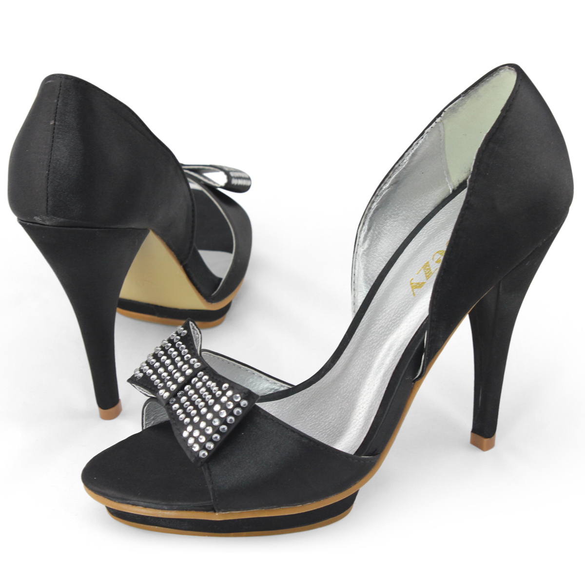 We offer stiletto pumps, peep toe pumps, and dressy pumps and more. We use cookies to provide you with the best possible experience. Wedding Shoes Women's Dance Shoes Boots Pumps Sandals Flats Wedges Platforms Sneakers & Athletic. Silk Like Satin Stiletto Heel Pumps Closed Toe US$ US$ (0) favor.