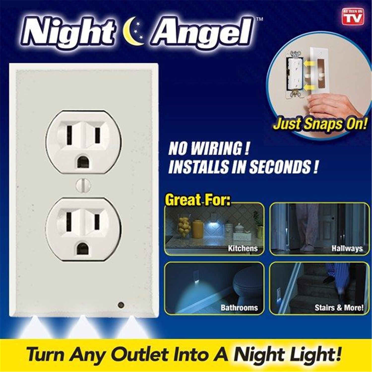 Light And Plug Covers New Design Wall Outlet Cover Plate Plug Cover Led Lights Hallway