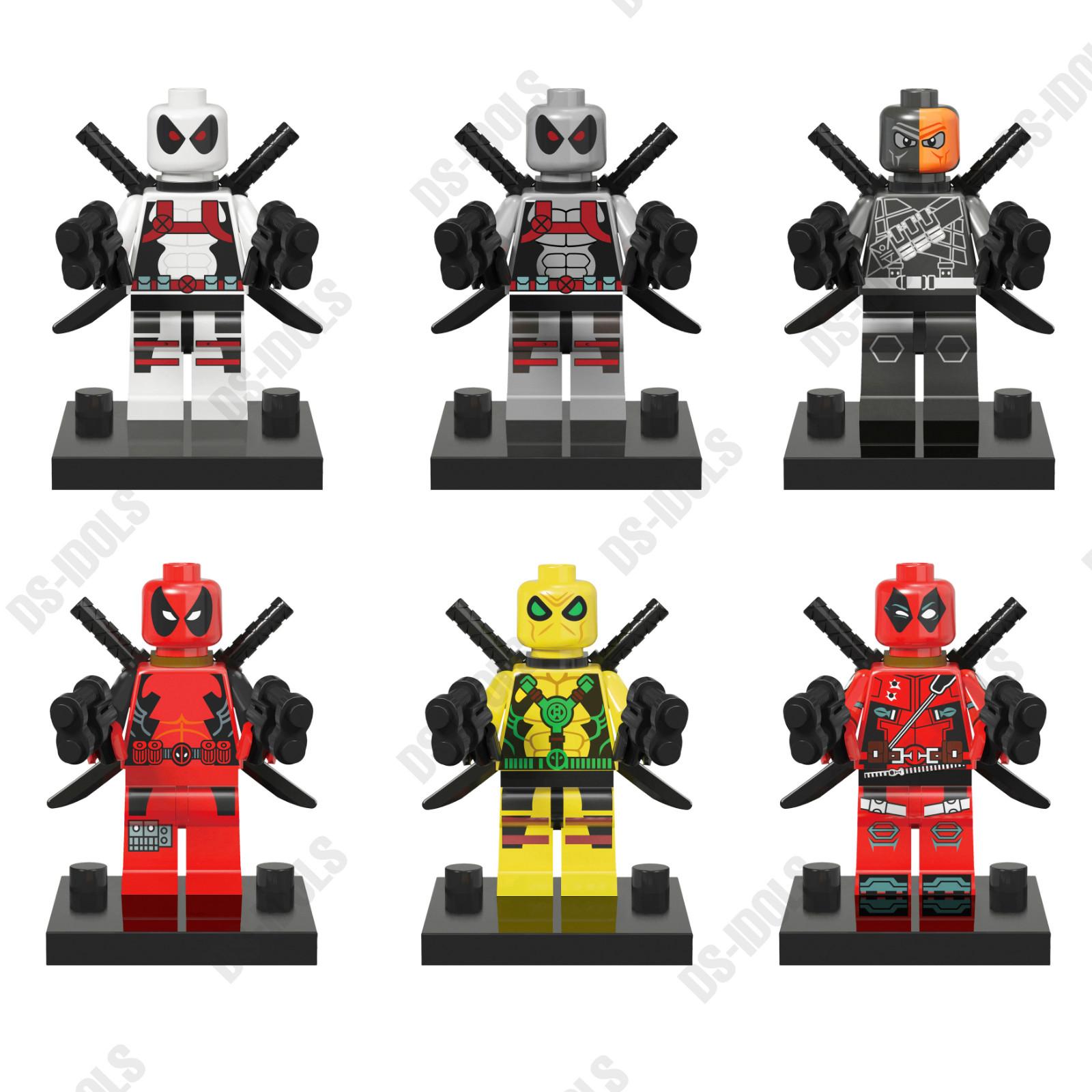 LEGO Super Heroes Deadpool Minifigure | Bricktraders |Lego Marvel Superheroes Deadpool Set