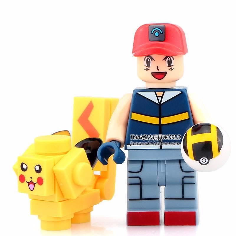 8 sets Pokemon go POKEMON Minifigures PIKACHU Fits Lego ...