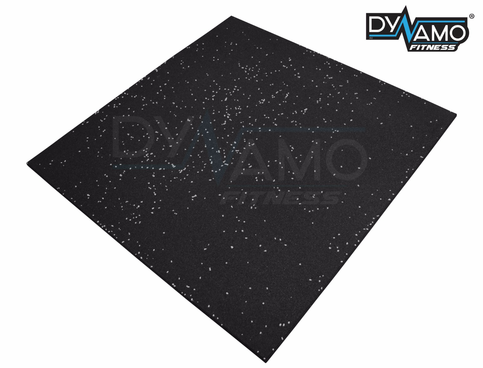 Rubber gym flooring tiles commercial 1mx1mx15mm thick black with rubber gym flooring tiles commercial 1mx1mx15mm thick black with white fleck doublecrazyfo Gallery