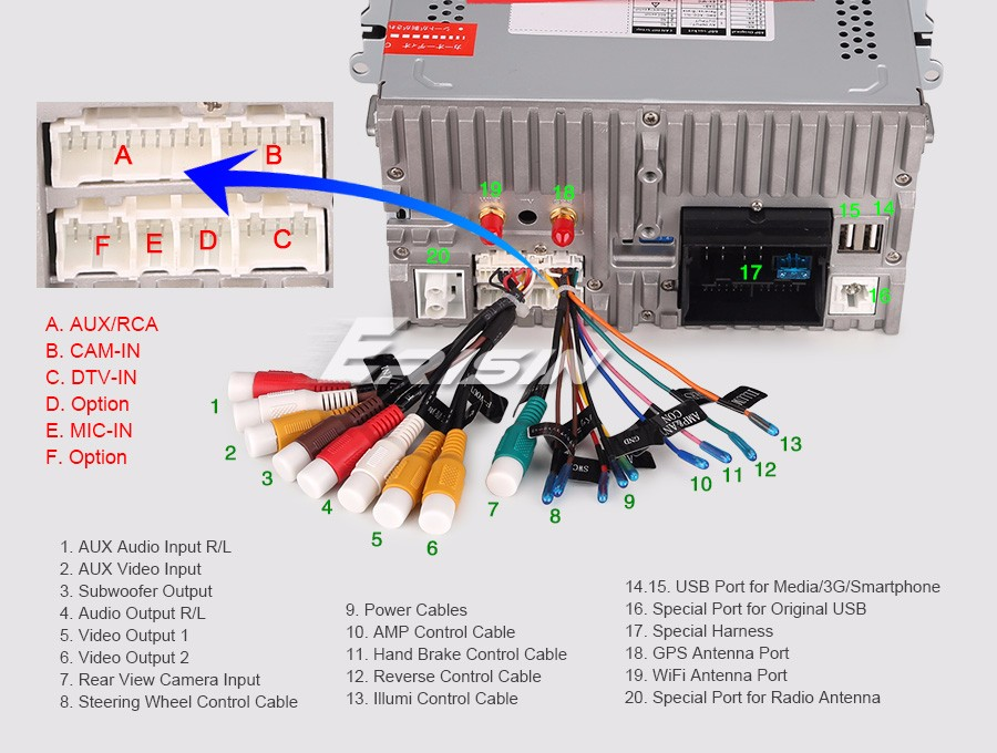 Volkswagen Navigation Wiring Diagram : Car radio for vw leon golf polo seat beetle eos android