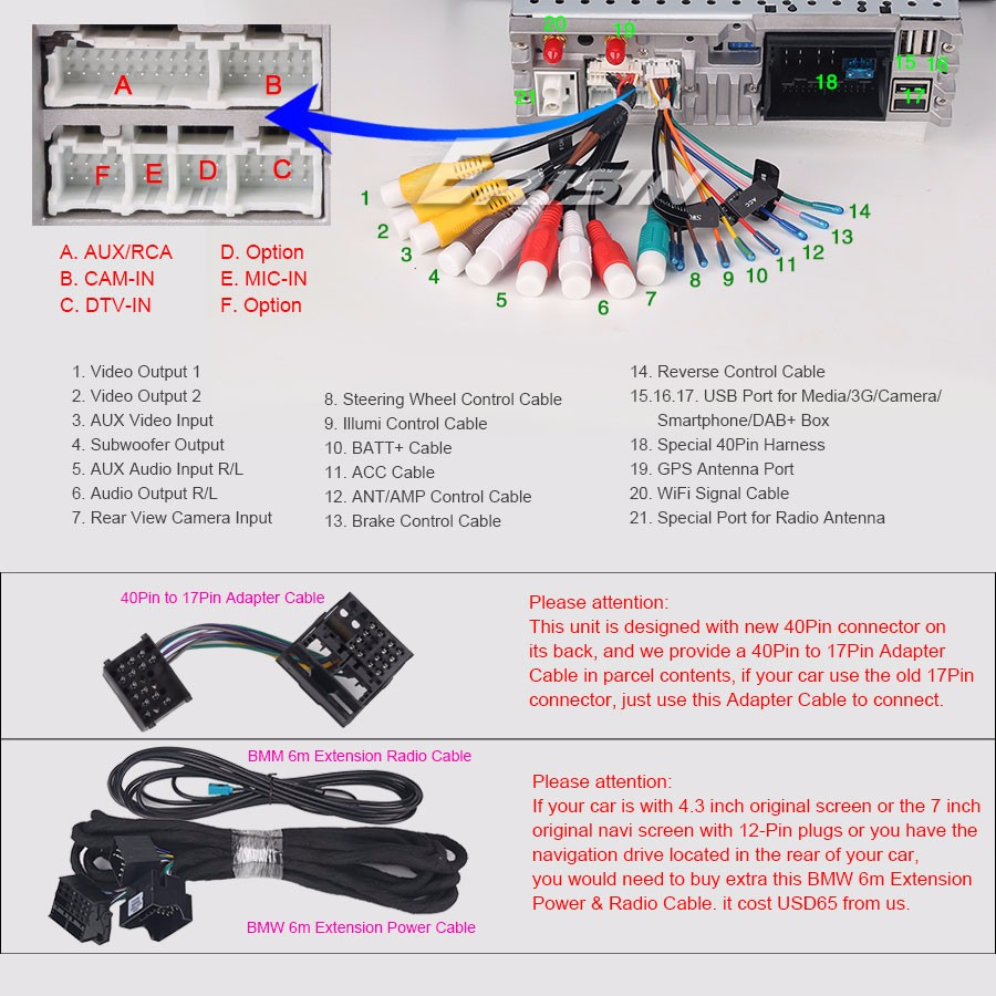 Car Radio Bmw E46 3er M3 Mg Zt Rover 75 Satnav Dvd Android 71 Dab Camera Wiring Diagram Es3762b E24