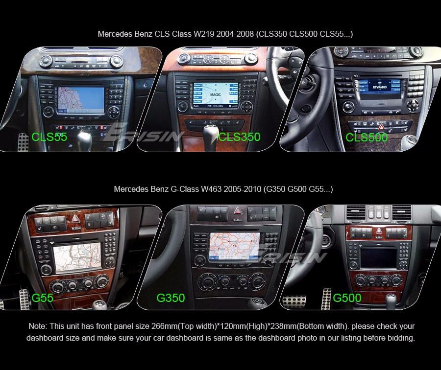 android 5 1 1 car dvd gps navi for mercedes benz cls w219. Black Bedroom Furniture Sets. Home Design Ideas