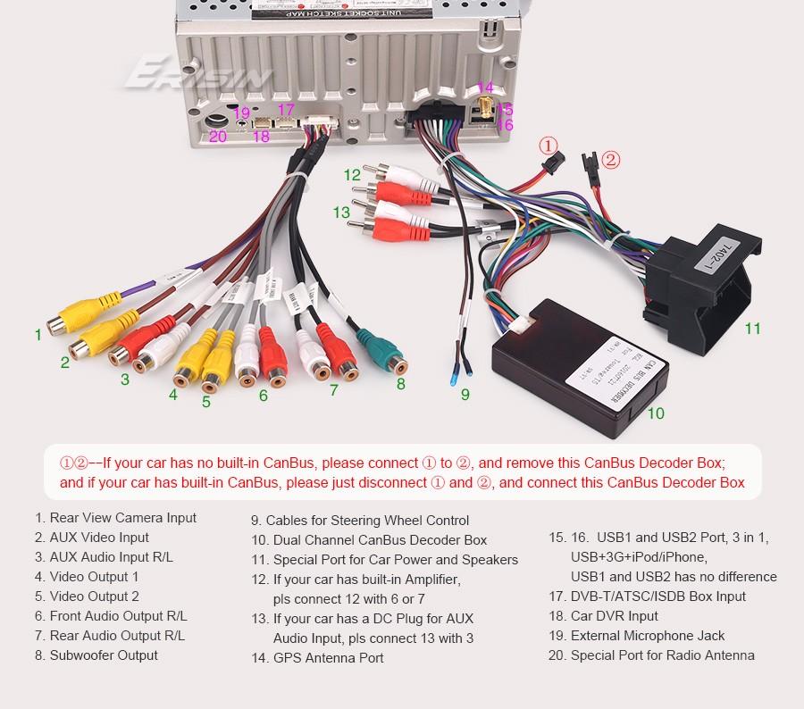 7\ Car Dvd Player Dvbtdvrin Gps Sat Navi 3g Canbus For Vw Rhebaycouk: Vw Can Bus Decoder Wiring Diagram At Gmaili.net