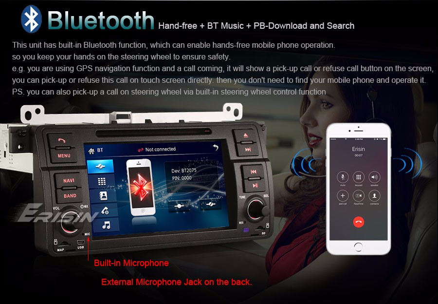 Mobile phone dual General USB charger For Mitsubishi audio port Modified