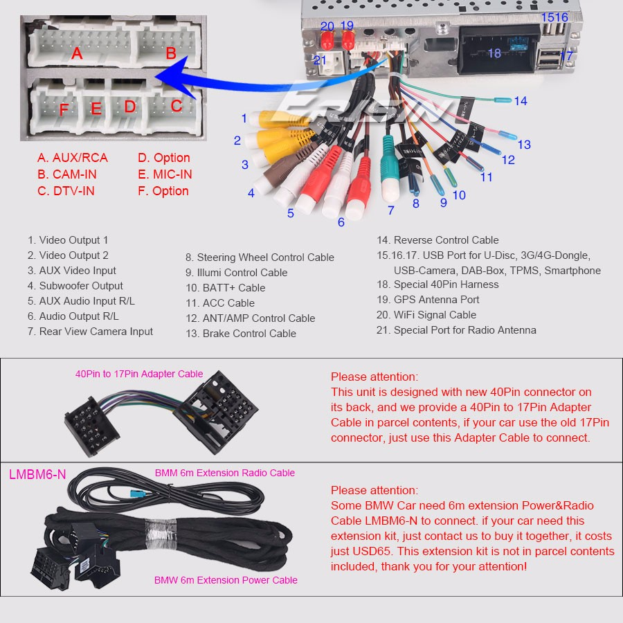 Bmw Car Dvd E39 E53 Android 80 5 Series X5 M5 Dab Dtv Gps Obd Electronic Brake Controller Wiring Diagram Support Rear View Camera Input And Reverse Trigger Control Steering Wheel Hand Anti Shock Last Position