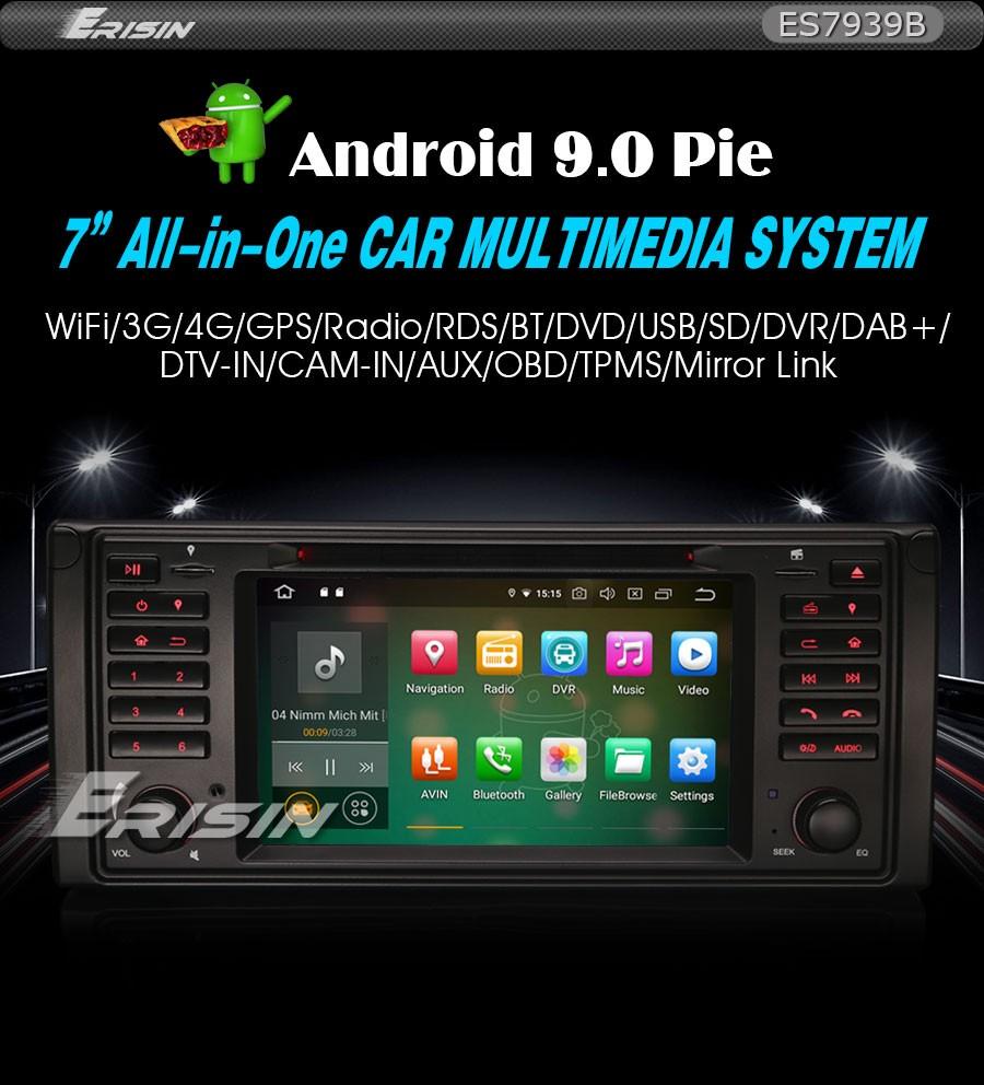 Details about Android 9 0 PX5 Car Stereo BMW E53 E39 5er X5 M5 DAB+ Radio  SWC DVD DVR Cam 7939