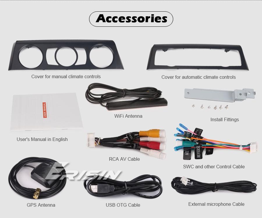Android 10.0 DAB+Autoradio für BMW 1ER E81 E82 E88 GPS WIFI+4G Carplay Bluetooth